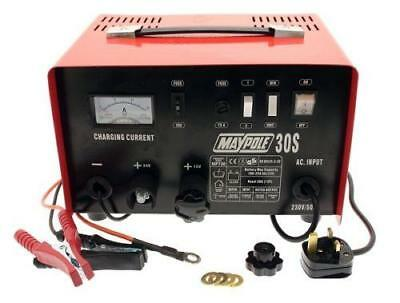 Metal Battery Charger - 20A - 12V/24V 730 MAYPOLE