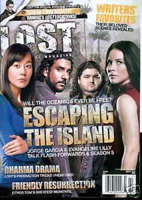 Lost Official Magazine - Escaping The Island - Jorge - Evangeline #20A