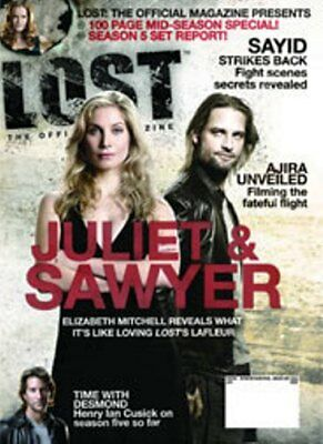 Lost Official Magazine - Juliet & Saywer - Mitchell & Halloway Cover #22 Special