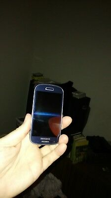 Samsung Galaxy S III Mini GT-I8200 - 8GB - Pebble Blue (Unlocked) Smartphone