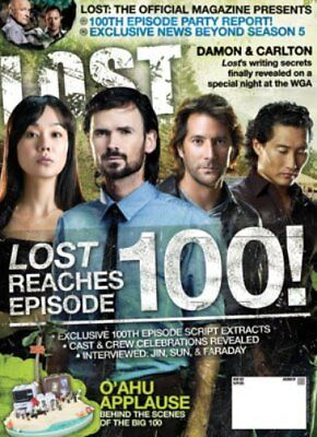 LOST OFFICIAL MAGAZINE - 100th EPISODE SPECIAL EDITION COVER #23A