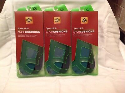 Spenco RX Arch Cushions 3/4 Length #1 1 Pair (Pack of 3)