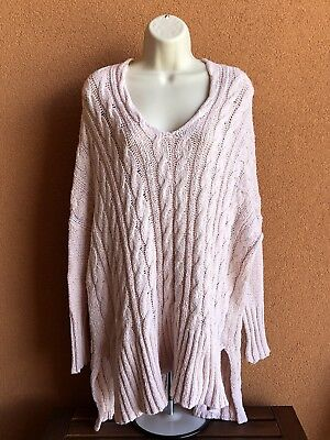 Free People Urban Outfitters Chunky Womens Sweater Size S 2700