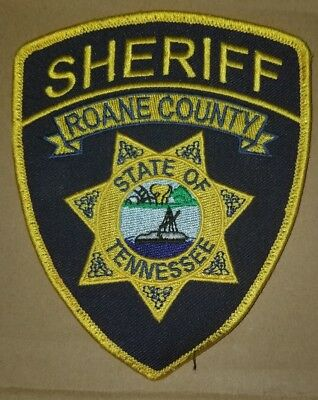 Police Patch Roane Co Tn