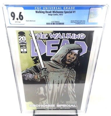 The Walking Dead Michonne Special #1 CGC 9.6
