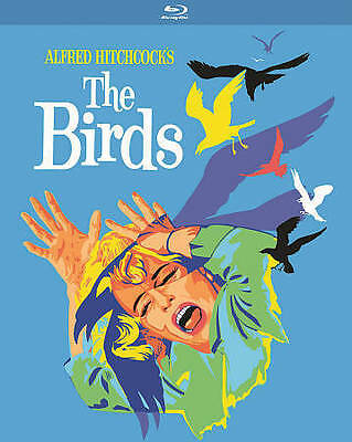 The Birds (Blu-ray)  Alfred Hitchcock  New, Free Shipping