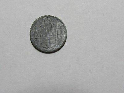 Old Iceland Coin - 1942 10 Aurar - Circulated, corroded