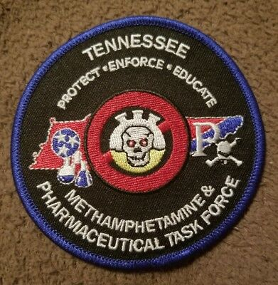 Police Patch Tennessee