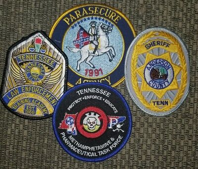 Police Patch Lot Tn