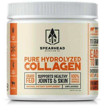 Spearhead Nutrition - Collagen Peptides, Grass Fed (Unflavored) 16oz
