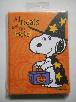 Vintage Halloween Party Invitations Cards Peanuts Snoopy