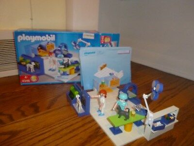 Playmobil 4346 Animal Vet Operating Room 99 Complete With Box