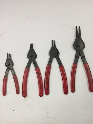 MAC Tools 4pc Snap Ring Plier set