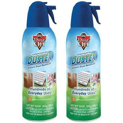Falcon Dust Off Compressed Gas Duster 2 Pack 10 OZ