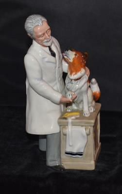 "Royal Doulton Figurine ""THANKS DOC"" HN 2731  Ret 1990-W K Harper  -8.75""H - Mint"