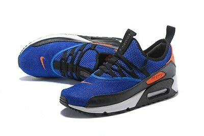 new style 2abf9 cd576 Nike Women s Air Max 90 Ultra EZ GS Racer Blue White Orange Size 7.5 AH5211-