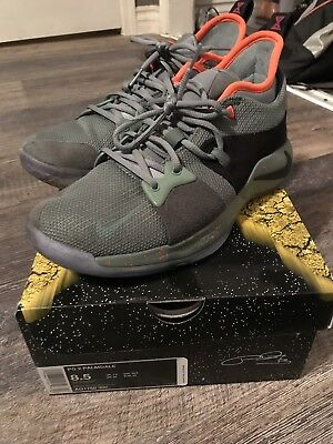4800b40c5a4d33 Nike PG 2 Palmdale All-Star Mens Size 8.5 Paul George Clay Green  (PlayStation