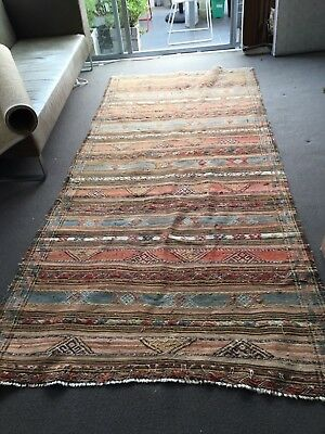 Fine antique Afghan Kilim floor rug