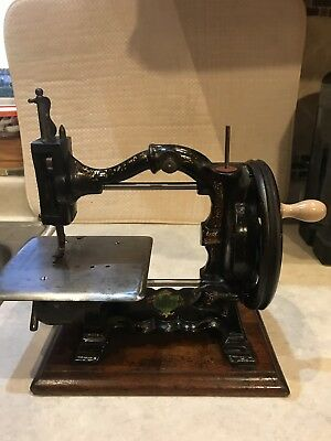 Rare Early 1870's The Challenge Sewing Machine