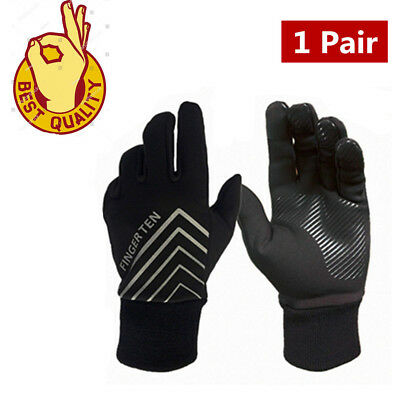 Winter Gloves Men Thinsulate Warm Fleece Lined Grip Motorcycle Running Driving