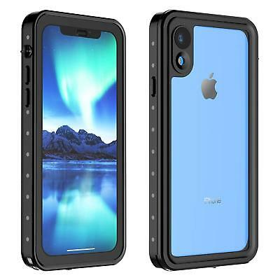 For iPhone XR Waterproof Case Heavy Water Dirt Shock Proof Grease XS MAX Cover