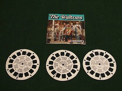 The Waltons Rare Viewmaster Reels With Booklet