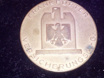 "FRANKFURTER VERSICHERUNGS A.-G. ""1952 RING DER GROSSACQUISTTEURE"" Medallion"