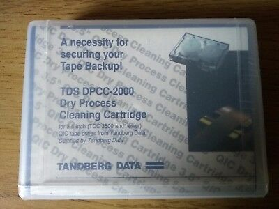 Tandberg Dry Process Cleaning Cartridge TDS-DPCC-2000 (Brand New - Sealed)