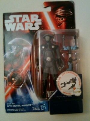 Star Wars Force Awakens 3.75 Fifth Brother Inquisitor figure