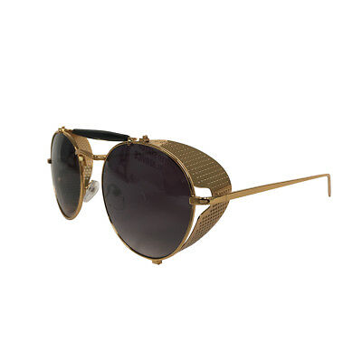 Sarah Connor Sunglasses Terminator 2 Movie Costume Glasses Conner Side Gold Gift