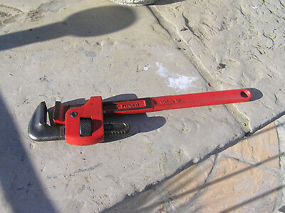 Draper Expert 18 inch Adjustable Pipe Wrench  STILLSON