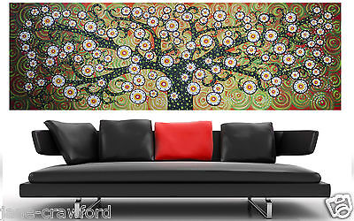 Secret Tree art Painting Huge Original original COA By Jane aboriginal
