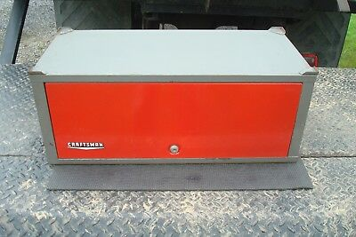 VINTAGE CRAFTSMAN 2 Drawer Middle Chest Intermediate Tool Box Add-on Chest  65272