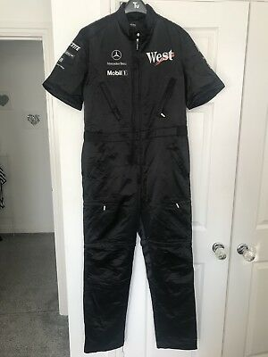 McLaren Mercedes F1 West Race Team Suit