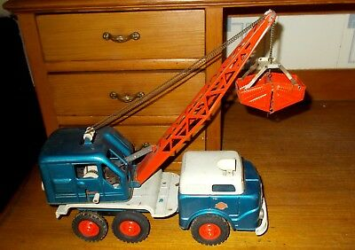 Gama Blech Lkw mit  Bagger Friktionsantrieb 50/60 Jahre Made in Western Germany