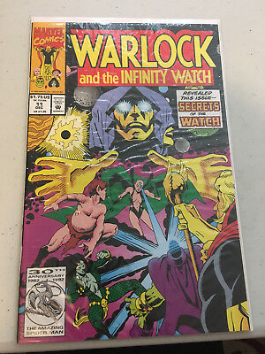 Warlock and The Infinity Watch Lot of 11 Marvel Comics