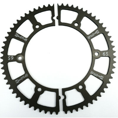 Nitro Manufacturing 65 Tooth Hard-Anodize Go Kart Racing Split Gear Sprockets