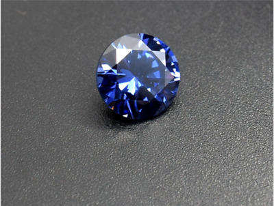 Gorgeous 4.06ct Top Color Blue 9mm Round Shape Tanzanite AAAA+ Loose Gemstone