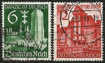 Germany (Third Reich) 1939 Used - Re-integration of Danzig to German Reich