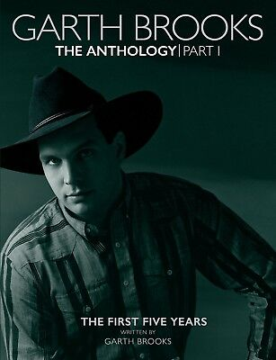 Garth Brooks – The Anthology Part 1: The First Five Years - 5CD Book Set  NEW