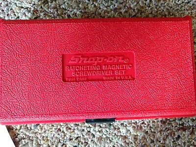 Snap On Rachet Magnetic Screwdriver With Extras
