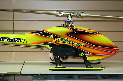 Goblin 630 Sab Competition Helicopter With Motor Servos Esc Gyro Motor