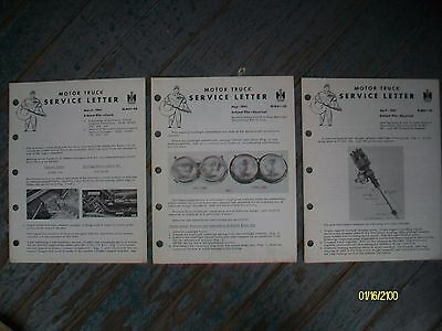 Original Vintage 1961 International Harvester Motor Trucks Mike Service Letters