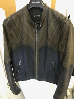 Gucci Leather Jacket was £1,850.00