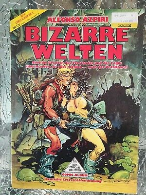 Beta Comic Art Collection 3: Alfonso Azpiri - Bizarre Welten SC Erwachsene
