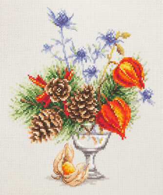 "Counted Cross Stitch Kit WONDERFUL NEEDLE MAGIC NEEDLE /""Degustation/"""