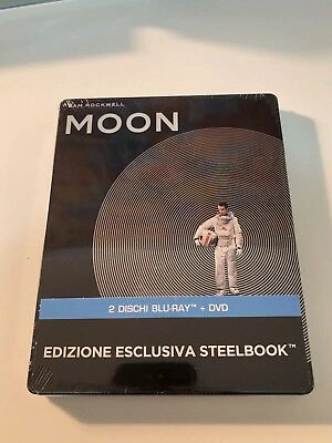 Moon - Imported Limited  Edition Steelbook (Blu-ray) Sam Rockwell  OOP/OOS