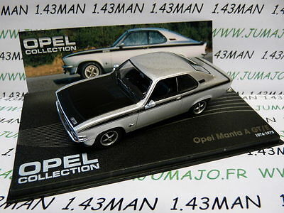 OPE36R voiture 1/43 IXO eagle moss OPEL collection : MANTA A GT/E 1974/1975