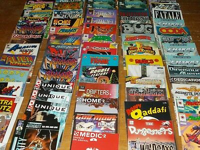 Comic book collection, Independent LOT, Low Print, Variant, FATALE, ALIEN, P-1