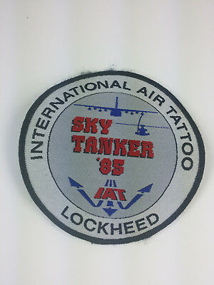 USAF RAF Fairford Lockheed Skytanker IAT International Air Tattoo 1985 Patch